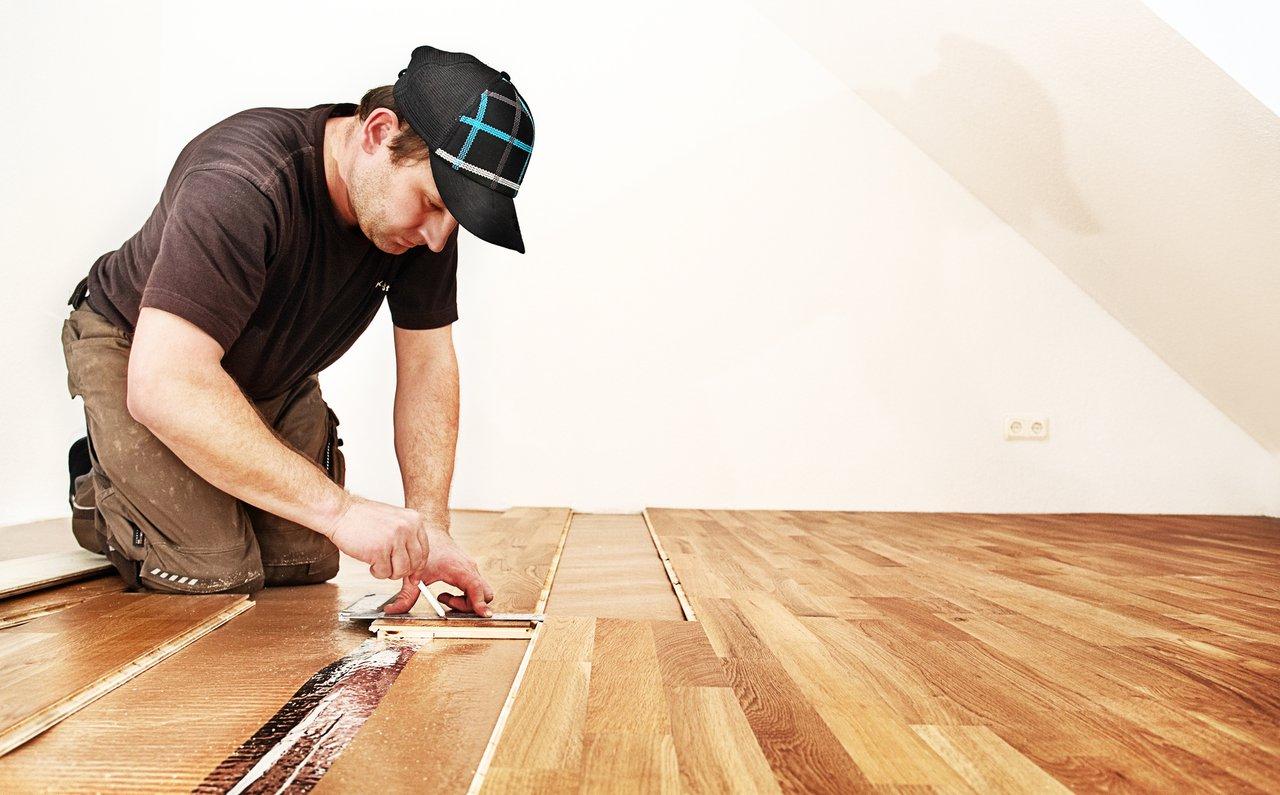 laminatboden - schöne böden schnell und sauber verlegt - deschler